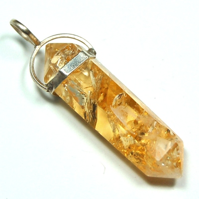 Pendants citrine 6 sided dt pendant brazil citrine healing pictures represent typical quality aloadofball Images