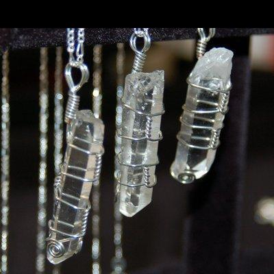 "Crystal Pendants - ""High Vibe"" Quartz Point photo 3"