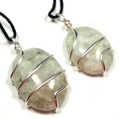 Rainbow Moonstone Wrapped Cabochon