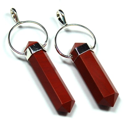 Pendants red jasper 6 sided dt pencil pendant india red jasper pictures represent typical quality aloadofball Image collections
