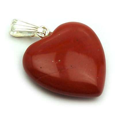 heart red the crystal jasper gemstone healer