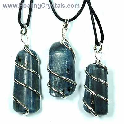 raw stone listing il from crystal healing blue pendant kyanite jewelry