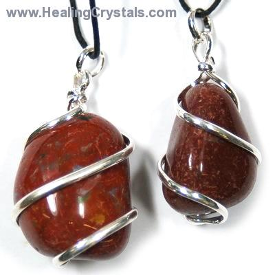 Pendants tumbled red jasper wrapped pendant india red jasper pictures represent typical quality aloadofball Images