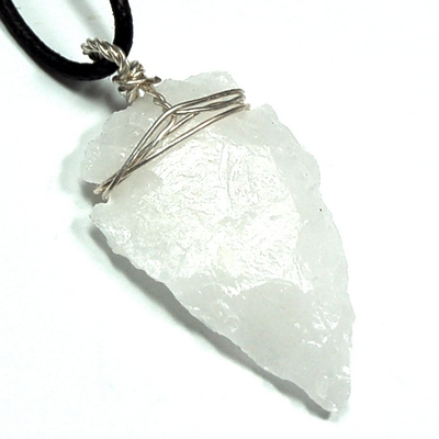 Pendants white aventurine arrowhead pendant india white pictures represent typical quality aloadofball Image collections