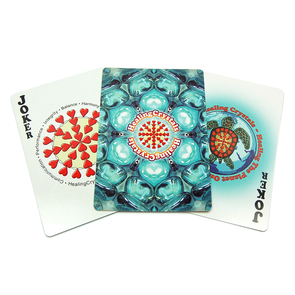 Crystal Playing Cards - Deck of 54 Cards