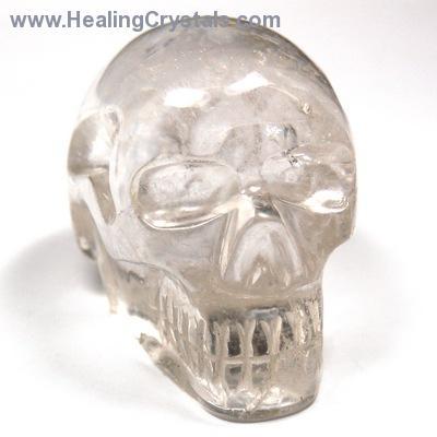 Crystal Skulls - Clear Quartz Specimen Skulls (Brazil)