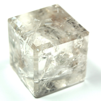 Cube - Clear Quartz Crystal Cube photo 7
