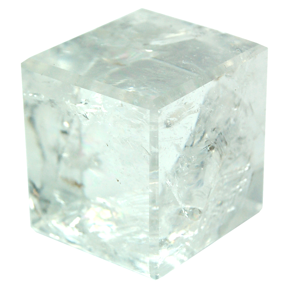 Cube - Clear Quartz Crystal Cube photo 2