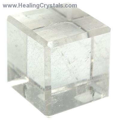 Cube - Clear Quartz Crystal Cube photo 5