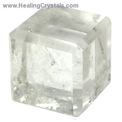 Cube - Clear Quartz Crystal Cube photo 6