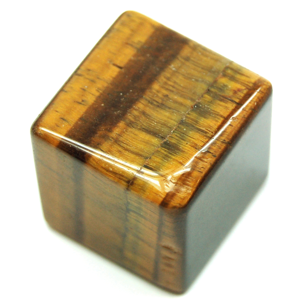 Cube - Golden Tiger Eye Cubes (China)