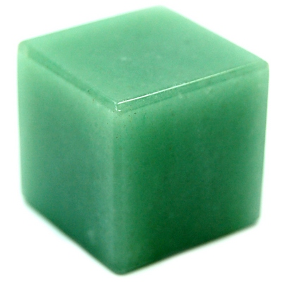 Cube - Green Aventurine Cubes (China)