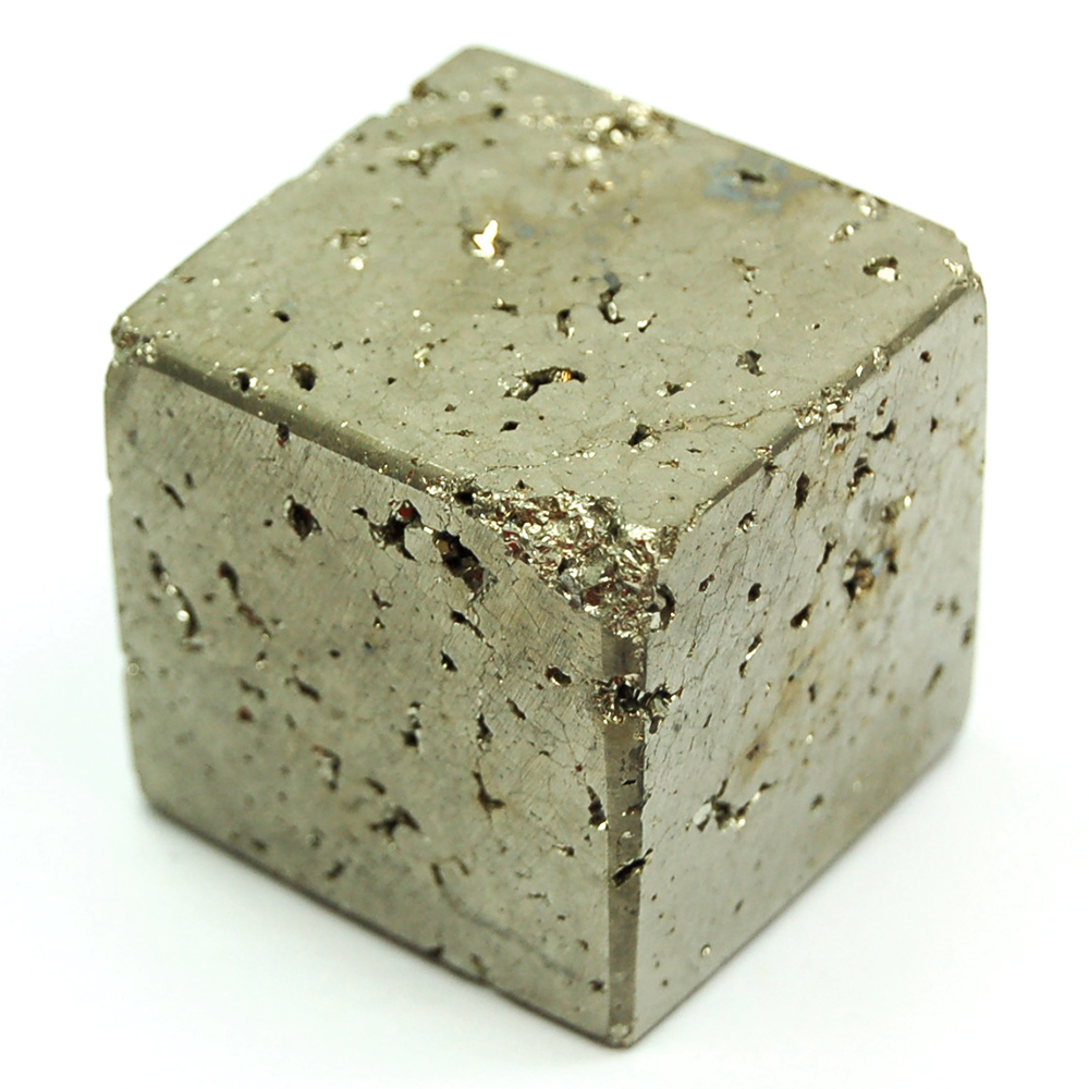 Cube - Pyrite Cut/Polished Cubes (Peru)