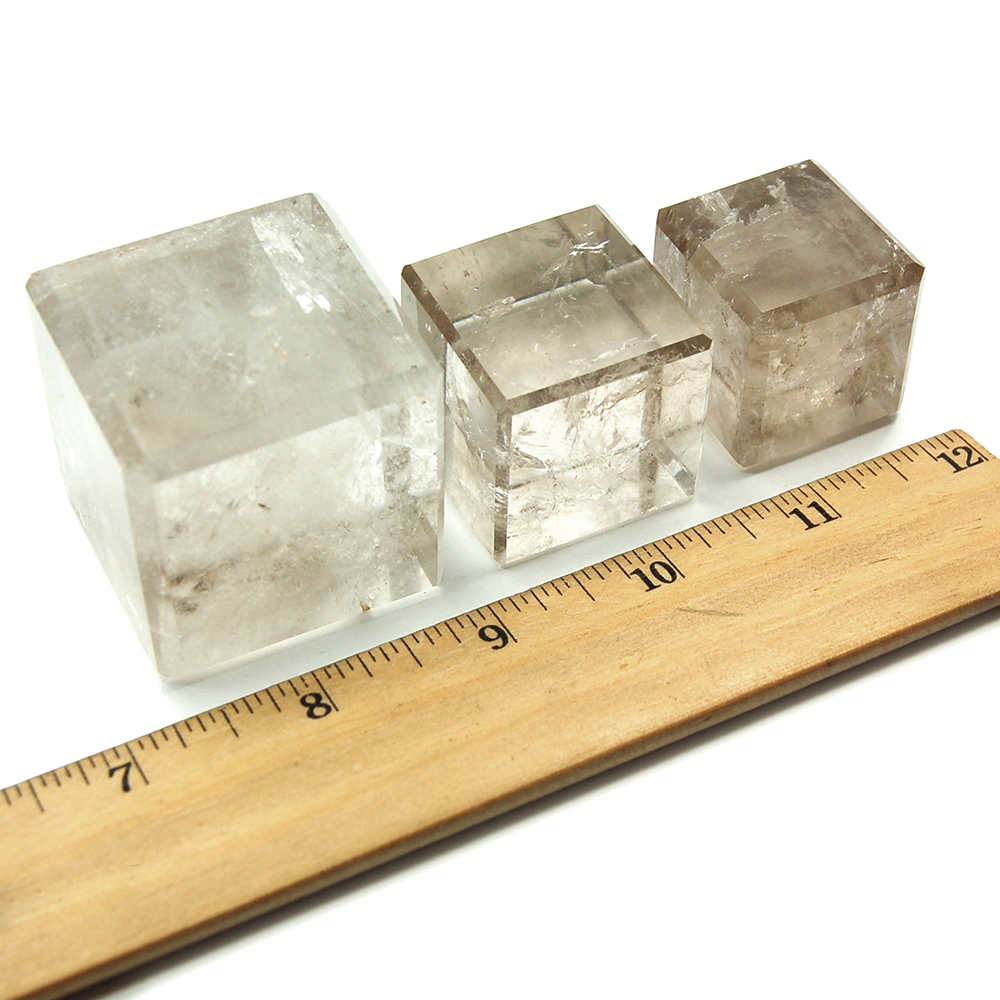 Cube - Smokey Quartz Crystal Cubes photo 3