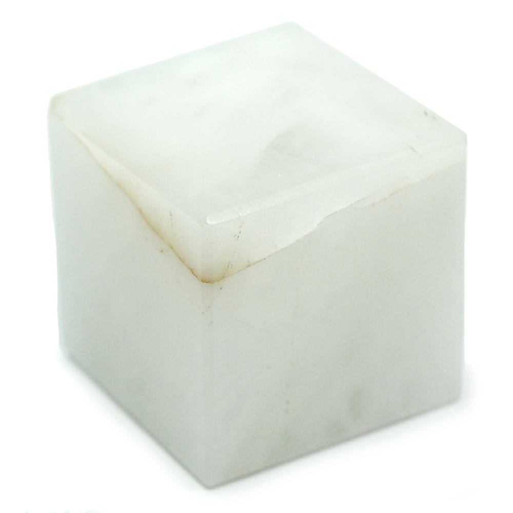 Discontinued - White Aventurine Cubes (India)