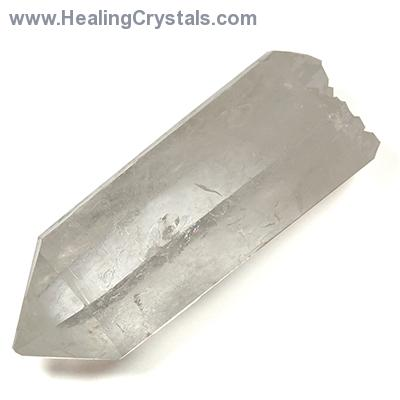 """Double Terminated Quartz Point ""A"" Grade (3"" - 9"