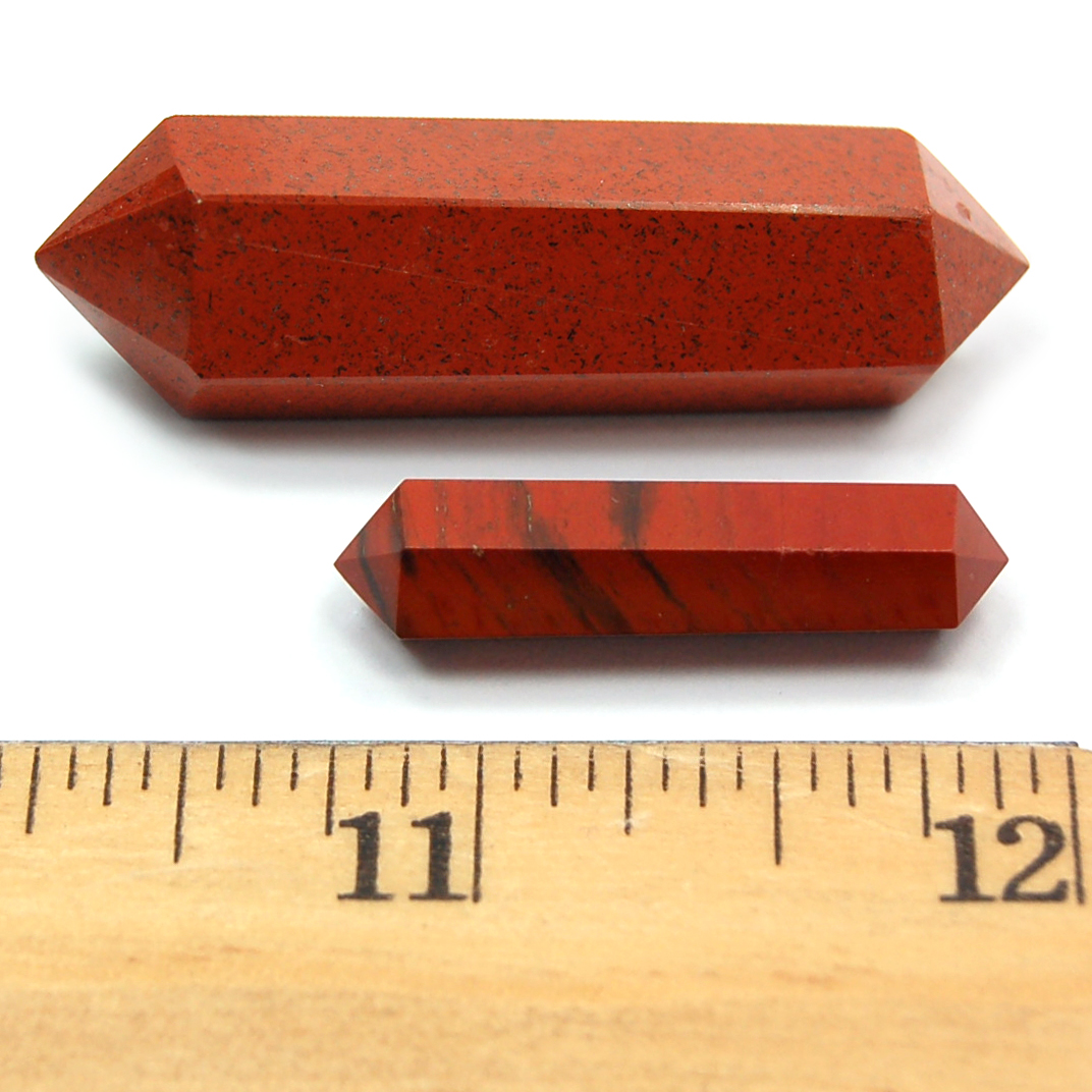 Discontinued - Red Jasper 6-Sided DT Pencil (India)