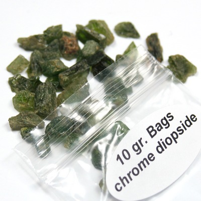 Chrome Diopside Chips (Green Diopside) photo 6