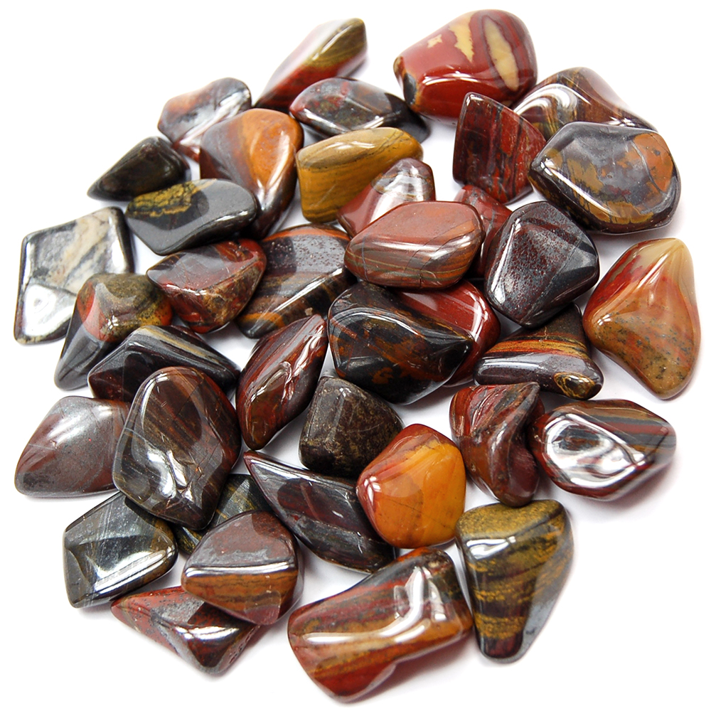 Tumbled Tiger Iron - Tumbled Stones