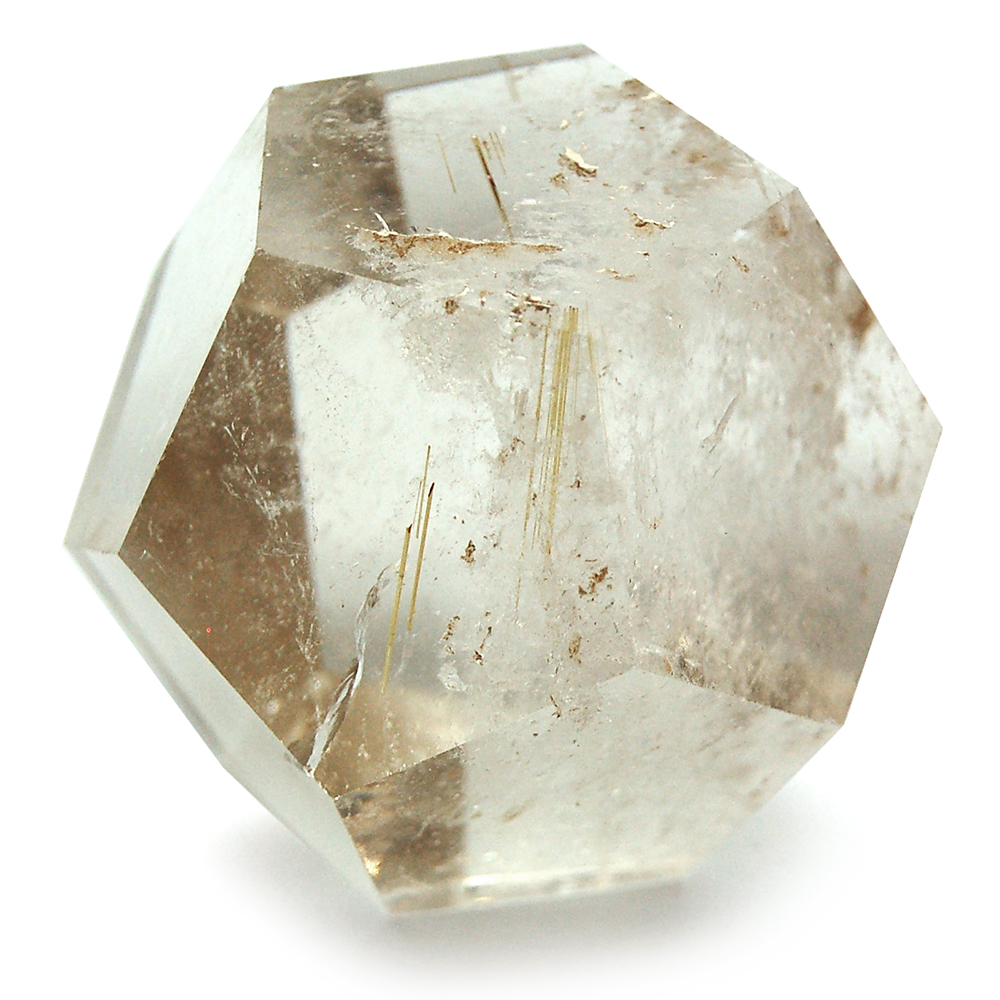 Discontinued - Dodecahedron - Smokey Quartz (Brazil)