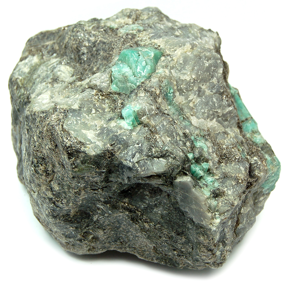 Emerald Crystals in Matrix