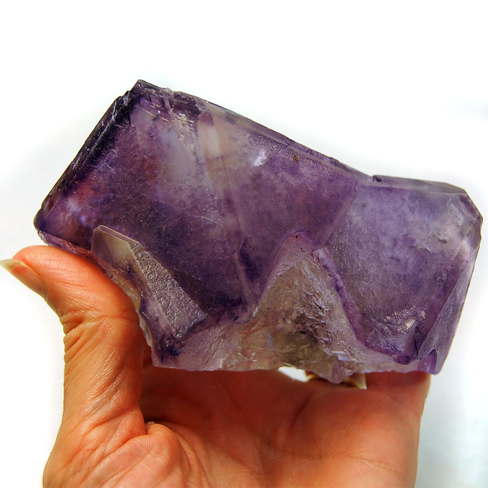 Fluorite - Purple Fluorite Natural Clusters (China)