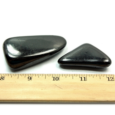 Shungite Polished Gallets (Russia)