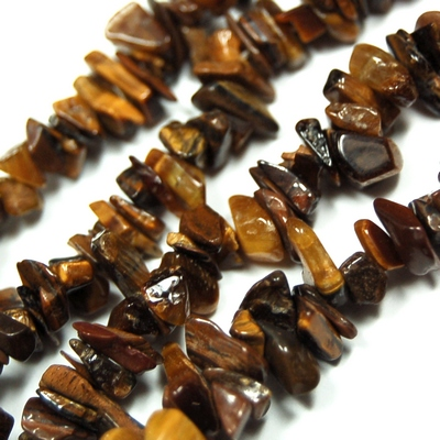 Necklaces golden tiger eye tumbled chips necklace india golden pictures represent typical quality mozeypictures Images
