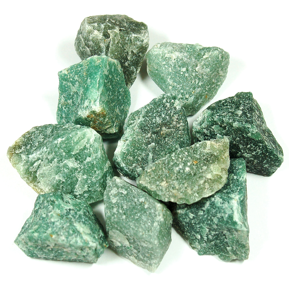 Green Quartz - Green Quartz Natural Chips/Chunks (Brazil)