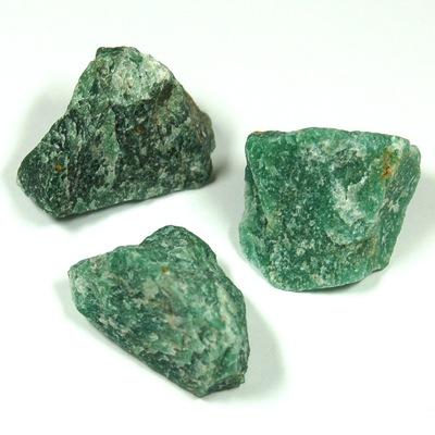 Green Quartz Natural Chips/Chunks