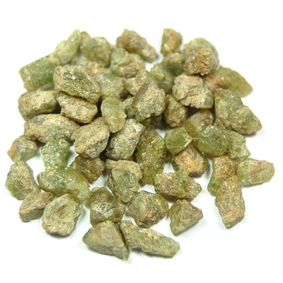 Sphene - Green Sphene (Titanite) Chips/Chunks (Pakistan)