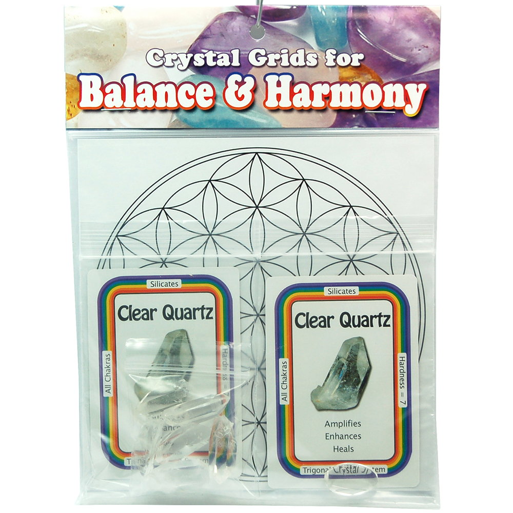 Grid Kit - All-Purpose Grid Kit w/Clear Quartz