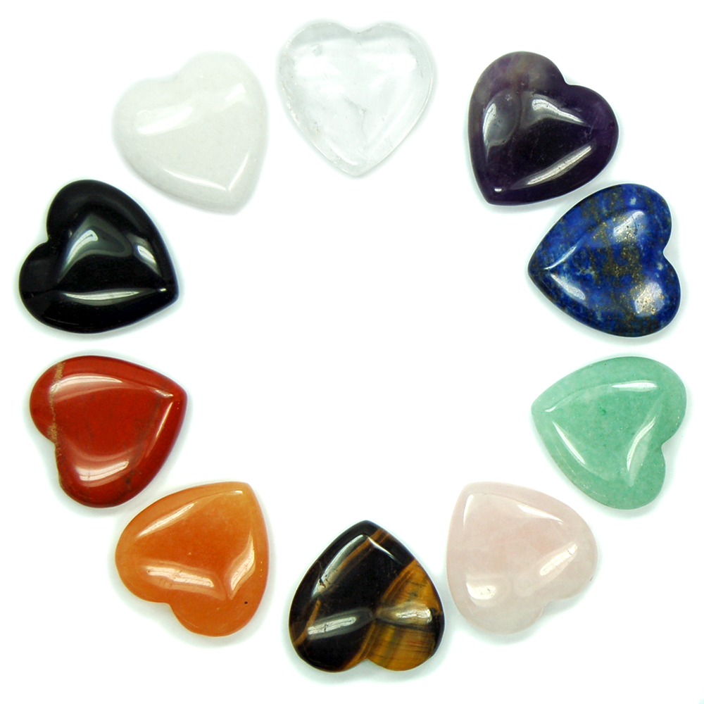 Hearts - Chakra Heart Assortment (China)