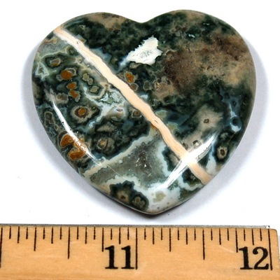 Hearts - 45mm Assorted Flat Hearts (China)