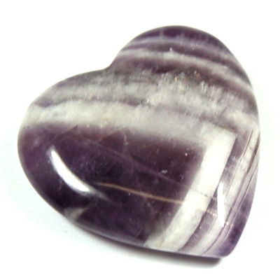 Hearts - Amethyst Chevron Heart (China)