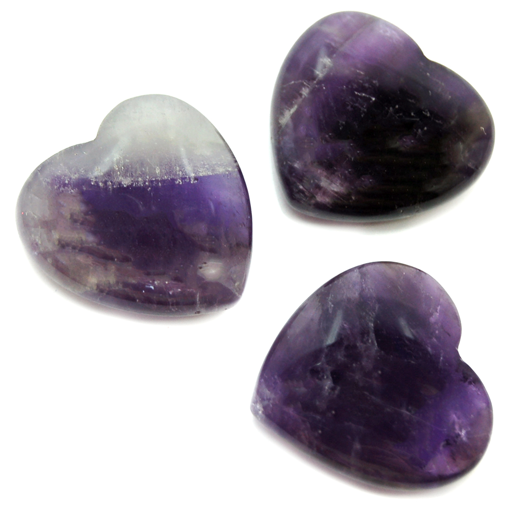 Hearts - Amethyst Heart (China)
