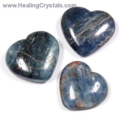 Hearts - Blue Kyanite Heart (India)