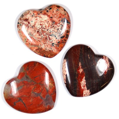 Hearts - Brecciated Jasper Heart