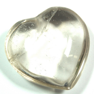 "Hearts - Clear Quartz Crystal Heart ""Extra"" photo 7"
