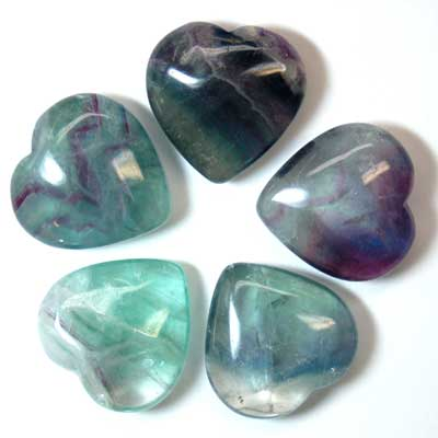 Hearts - Fluorite Crystal Heart photo 7