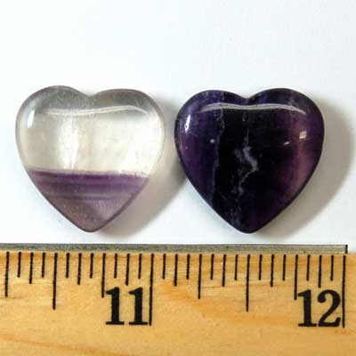Hearts - Fluorite Crystal Heart photo 9