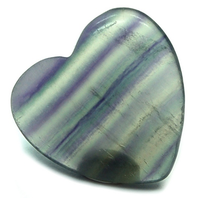 Hearts - Fluorite Crystal Heart photo 2