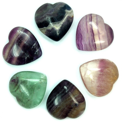 Hearts - Fluorite Crystal Heart photo 3