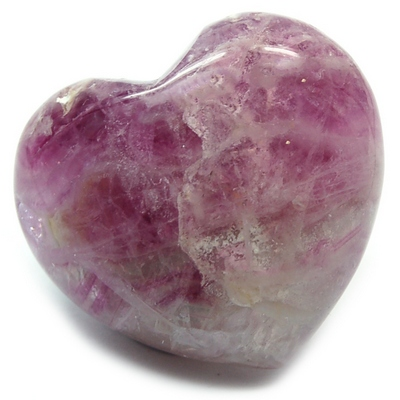 Hearts - Fluorite Crystal Puff Heart photo 6