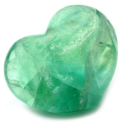Hearts - Fluorite Crystal Puff Heart photo 7