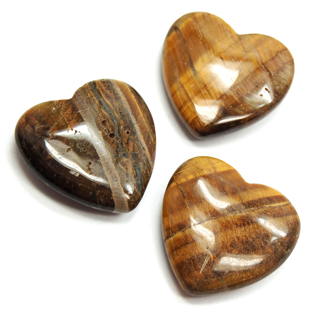 Hearts - Golden Tiger Eye Heart (China)