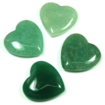Hearts - Green Aventurine Crystal Heart photo 5