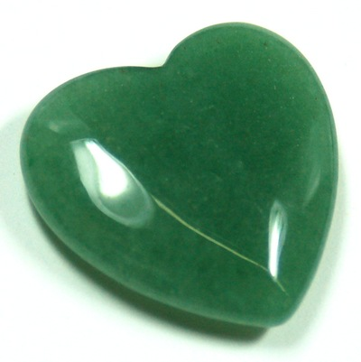 Hearts - Green Aventurine Crystal Heart photo 7