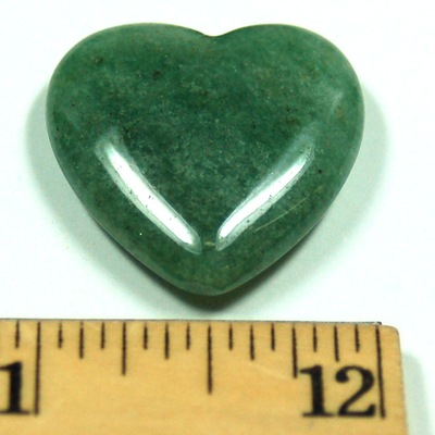 Hearts - Green Aventurine Crystal Heart photo 4