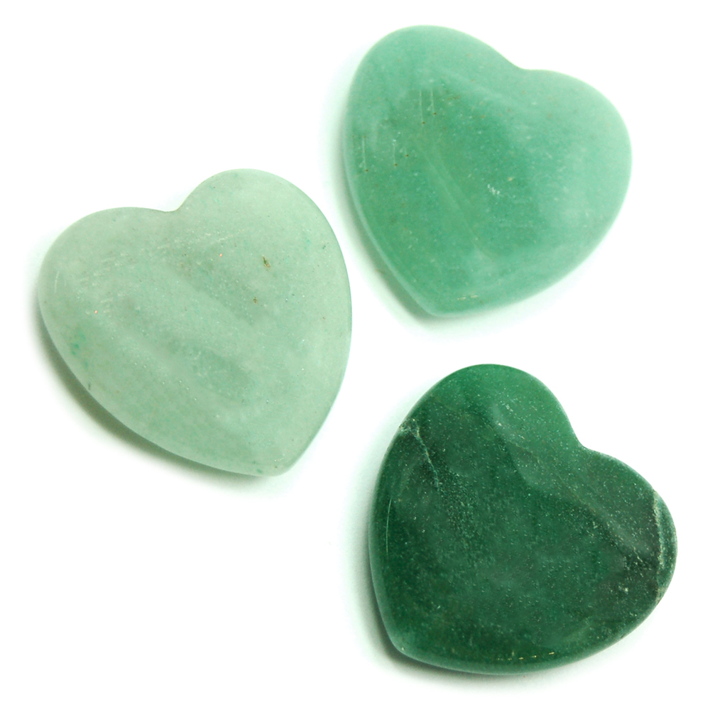 Hearts - Green Aventurine Heart (China)